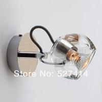 Free shipping, bedside lighting mirror front window Crystal Wizard eye,diameter10cm * 18cm