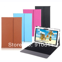 "15pcs/lot PU Leather Stand Case Cover Sleeve with Keyboard Holder For 10.6"" Microsoft Surface Pro 2 1 10.6inch Tablet PC"