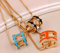 Fashion brand H Necklace Snake Chain For Women And Girls High Quality Free Shipping