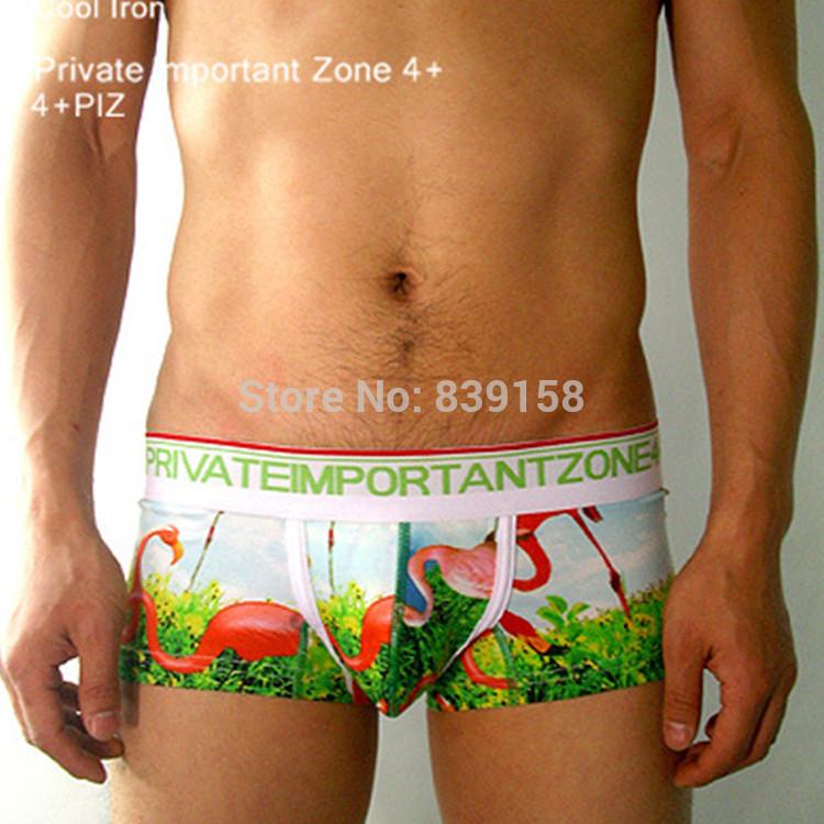 FUNNY ANIMAL MEN'S UNDERWEAR Size M / XL Men's Underpants Boxer Cotton ...