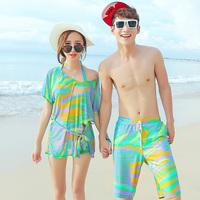 2014 lovers swimwear skirted bikini swimwear small push up beachwear lovers  323