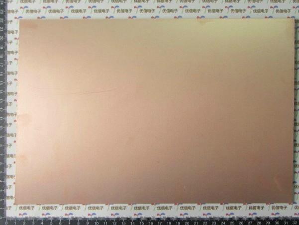 "5 pcs Large Double Side PCB Epoxy Fiber FR4 Copper Clad Plate Laminate Laminating 300*200*1.6mm (5 15/16"" x 4"" x 1/16"")(China (Mainland))"