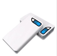 Retail box LED power bank 30000mah With universal Dual USB Outputs External Backup Battery charger