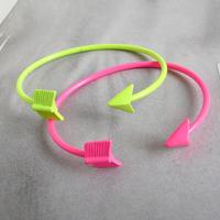 Fashion Neon Color Arrow Quality Metal Bracelet s