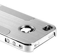 New High chrome aluminum monocoque For iPhone 4/4G/4S