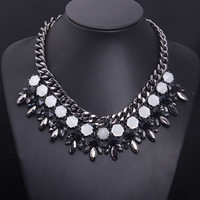 African Jewelry Big Chunky Chain Necklace 2014 New Fashion For Women