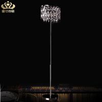 Fashion luxury brief crystal floor lamp led living room lamp bed-lighting floor lighting 0355
