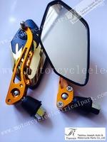 Free shipping universal One Set   Motorcycle Rear Mirror 8mm For HONDA YAMAHA SUZUKI motorcycle scooter