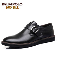 Paul men's knight 2014 spring fashion male business casual leather genuine cowhide leather shoes skateboarding shoes