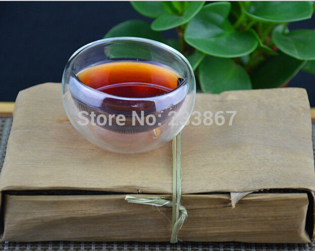 30 Years Old 250g Chinese Ripe Puer Tea The China Naturally Organic Puerh Tea Black Tea Health Care Cooked Pu er Free Shipping(China (Mainland))