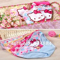 New 2014 free shipping baby girl panties kid underwear minnie  baby girl panties 6pcs/lot kids pajama sets 285#