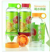 1457 cqua lemon emperorship vitality bottle lemon cup manual fruit cup 0.25