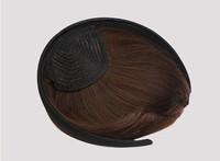 hair bang extensions, straight bangs with hair clip, Synthetic hair  bangs, short Wigs, free shipping, 50pcs/lot