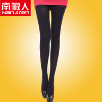 Spring thin solid color velvet silk fashion sexy pantyhose stovepipe socks stockings female