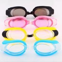 Card swimming glasses goggles comfortable Waterproof leisure goggles swim multi-colored options safty sportswear