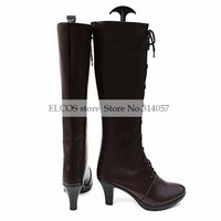 Cosplay Boots Inspired by Black Butler Female VER  Ciel Phantomhive  as  Halloween Cosplay shoes