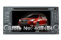 7 Inch 2DIN Car Radio Audio DVD Player GPS TV iPod Bluetooth For SUBARU FORESTER 2008~2013  Retail/Pcs Free Shipping