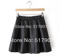 Wholesale Leather Mini Skirt, Sexy Leather Mini Skirts, Women High Quality Stretchable Waist Short Mini Bud skirt