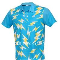Wholesale New arrival Korean short-sleeved male badminton clothing T-shirt