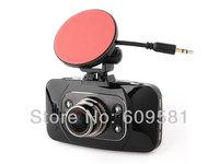 "Cheap GS8000 B Novatek Car DVR 1080P Glass lens 1920*1080 2.7"" LCD 4 IR Lights  Wide Angle 130 Degrees"