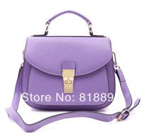 2014 NEW High Quality Saddle Candy Cow Leather Messenger Bags/ Branded Shoulder Bag/Handbag