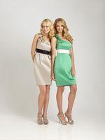 Shining and Charming Sheath Ruched One-shoulder White Sash Short Mini Length Satin Bridesmaid Dresses BD222