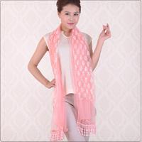 Spring and autumn scarf gentlewomen silk scarf women's belt gauze scarf