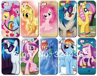 10PCS/lot New skin My Little Pony design white hard back cover case for iphone 5 5s+Free shipping