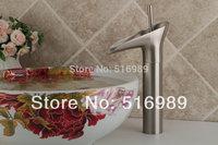 Luxury Nickel Brushed Bathtub Faucet Mixer Tap Brass Faucet 96104-1