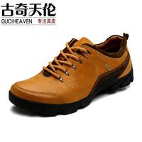 Guciheaven 2014 New men's outdoor shoes,genuine leather men's casual shoes ,men's outdoor leather Hiking shoes