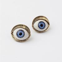 Fashion vintage punk accessories devil stud earring earrings