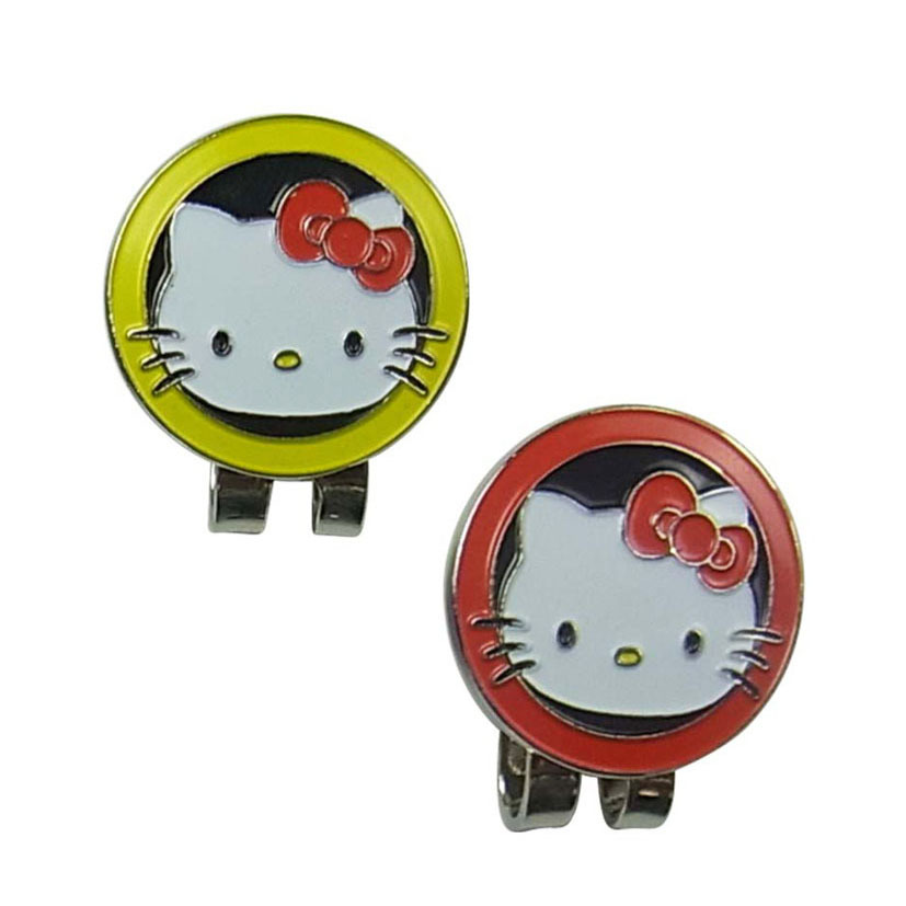 golf hat clip golf marker,hello kitty pictures(China (Mainland))