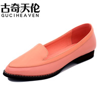 Guciheaven 2014 New women's Spring patent leather shoes,Girl's casual shoes,British casual flat shoes