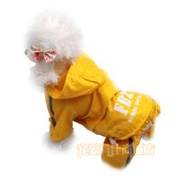 2 pet dog clothes raincoat clothing teddy vip bo