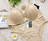 spring 2014  victoria sexy bra sets, women's intimates,Push up Embroidery underwear set,bra, brassiere for Female