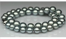 grey pearl necklace price