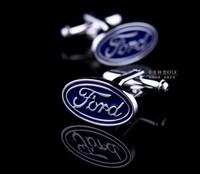 Ford Car Sign Shape Cufflinks   AS-19