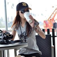 Hat female baseball cap male cap hiphop cap women's summer sunscreen sun hat sports cap