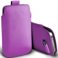 1pcs  bulk novelty new PU Leather PU Pouch Case Bag for zte v889m with Pull Out Function phone cases