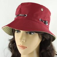 Summer bucket hat outdoor sun-shading fishing hat for man women's flat bucket hats millinery
