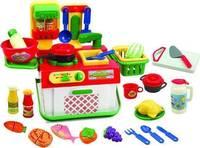 The brightness of the kitchen set infant girl female child 3