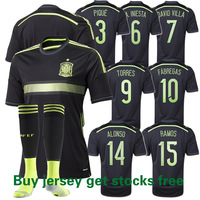 2014 World Cup, Spain Away Thai authentic player version of the quality.Short sleeve.free shipping
