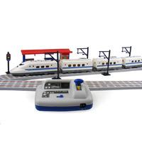 Brightness electromagnetic toy train - Large adjustable child puzzle 3 - 7