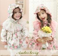 Children's clothing lace cotton cardigan coat Cheap hot sale