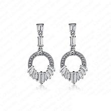 wholesale circle drop earrings
