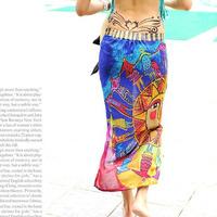 Ultralarge bikini shirt beach dress chiffon beach dress bohemia swimwear beach towel mantillas
