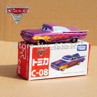 Original TOMY C-08 1/55 Scale Pixar Cars 2 Toys Ramone Diecast Metal Car Toy For Children New In Box