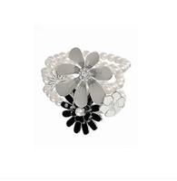 E026 fashion rose pearl elegant female bracelet