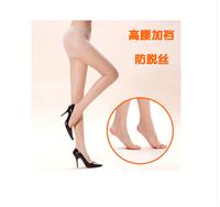 E050 toes step foot socks open toe plus crotch rompers female long silk ultra-thin slimming socks