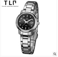 TLP brands, leisure fashion, elegant, fashion, ladies watch,Waterproof stainless steel quartz watch,watch women luxury